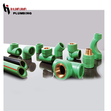 JH0040 pp-r pipe fittings pipe fittings ppr green water piping system ppr pipes & fittings