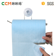 China manufacturer hot sale multipurpose disposable spunlace nonwoven fabric household cleaning kitchen microfiber cloth