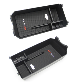 Car Storage box for central armrest box of auto for New Mercedes benz c-class GLC