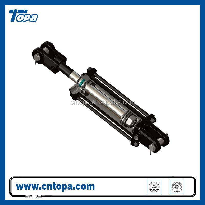 Manufacture Direct Sale high Quality adjustable two stage hydraulic cylinder