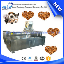 China New Pet Food Equipment / Steam Extruder Pet Food Make Machine