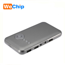 Lucas LED M6 Projector Android 4.4 RK3128 1G/8G Portable Pocket Mini Projector 2.4G/5G WiFi support Airplay/DLNA/Miracast