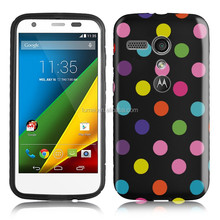 Polka Dot Design Soft Tpu Phone Case For Motorola Moto G