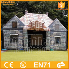 hot sale party use commercial inflatable pub,inflatable pub tent for sale