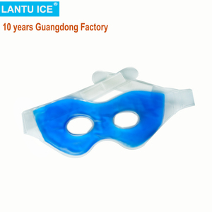 10 years Guangdong Factory CE FDA Cooling gel eye pads hot cold compress for dark eye circles