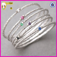 925 sterling silver stackable rings Danity stack ring set thin silver stacking ring