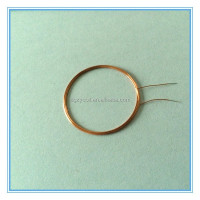 Radio frequency IC, ID CARD inductor air coil with common mode