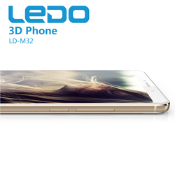 Ledo brand mobile phone wholesale price with 3d function