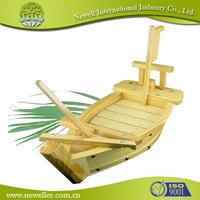 2014 Nature wooden food tray For Sushi Shop