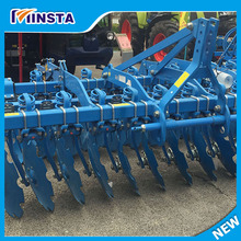 compact tractor 3-points heavy duty offset farm equipment disc harrow for sale