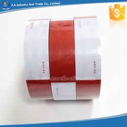 "DOT-C2 reflective tape Reflective sheeting for vehicle 11"" x 7"" x 50mm DOT C2 red + white"