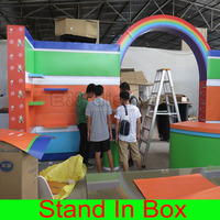 Portable Flexible Modular Self assembly Trade Show Exhibition Display Furniture