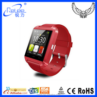 "Portable 1.48""TFT LCD bluetooth android wrist U8 smart watch"