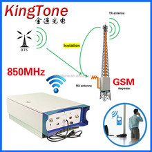 Wireless Rural Area Long Distance High Power Gsm Repeater 5W 850Mhz Celular Signal Amplifier