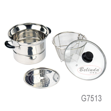 Multifunctional Stainless Steel Mini Cooking Pot for Television Home Shopping