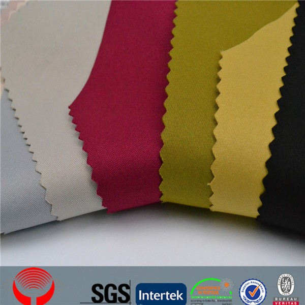 zhejiang shaoxing polyester various color man suit polyester fabric and soft polyester fabric