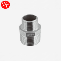 Stainless steel seamless Hexagon pipe Nipples