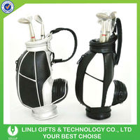 supply custom logo golf pen holder sets