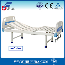 Made in hebei factory sale simple design 2 crank bed nursing home beds