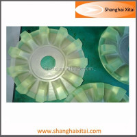 Custom Made wear-resisting Rubber PU casting product China factory
