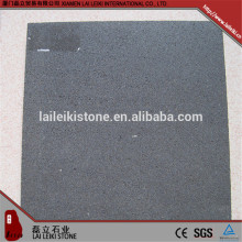 Grey square shape basalt floor hexagon paver