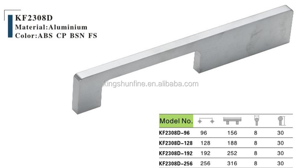 Modern style Long Metal Bar Handle for Door/pub door