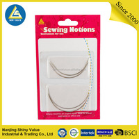 Blister card package 4pcs curved sewing needle