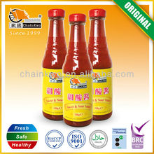2014 hot sell canned sweet and sour sauces