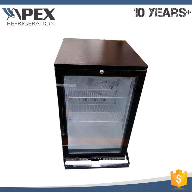 New style high quality compressor and motor back bar coolers fridges mini bar refrigerator