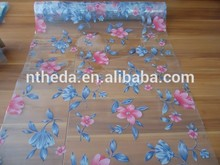 PVC transfer laminated table cloth Printed Table Cloth for sale