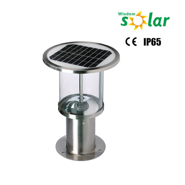 High Lumens Solar Garden Lighting Pole Power Garden Lamp Posts
