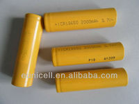 18650 3.6V li-ion 2200mAh high capacity battery 18650 18500 16340 14500