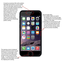 9h factory price New Premium silicone screen protector for iphone 7 for iPhone 7 plus screen protector tempered glass