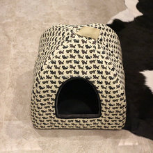 Pet Product Comfort Flannel Pet Bed Cage Carrier Cat House cat pet bed