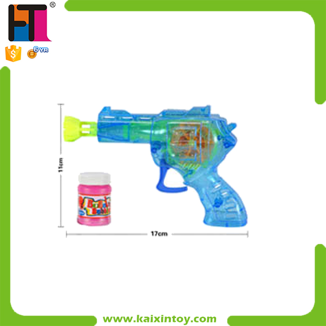 Summer Toys Friction Small Water Bubble Gun With Light
