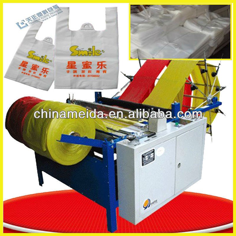 High Quality Low Price Paper Plastic Non Woven Nylon PP Polythene Cotton Shopping plastic bag making machine price