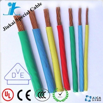 Flexible Electric Cable BVR cable Insulated With PVC Sheath