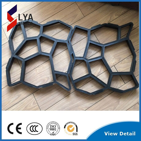 mould for path stepping concrete stone
