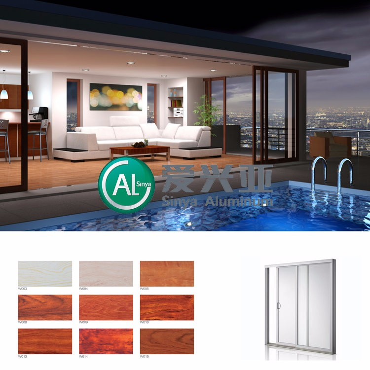 Alsinya top quality anodized <strong>aluminum</strong> double glazing sliding windows