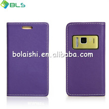 Right open wallet leather case cover for nokia n8