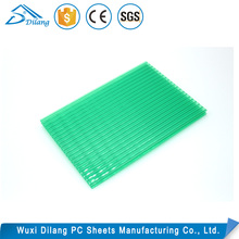 Best sell pc hollow polycarbonate honeycomb plastic sheet