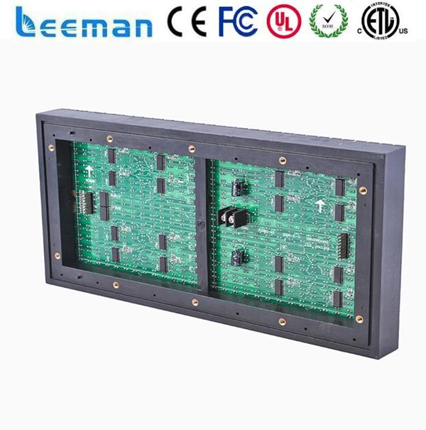 Free shipping leeman <strong>P10</strong> LED module led nameplate Cheaper price