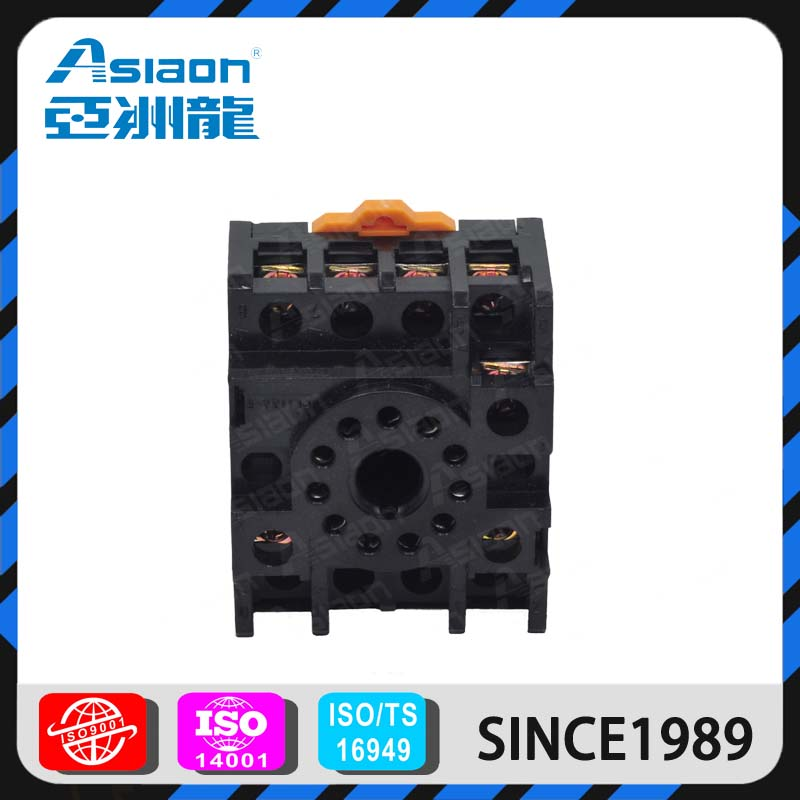 ASIAON 1Year Warranty Chinese 11pin 10A Relay Socket and Relay Base