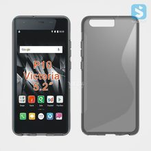 Soft Gel S Line TPU Silicon Skin Case Cover For Huawei P10 / Victoria