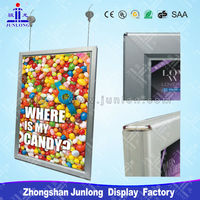 Double Side Picture Photo Frame, Advertising Display Light Box, Zhongshan Junlong JL-K2