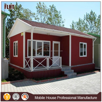 Light steel structure sandwich panel exported container house