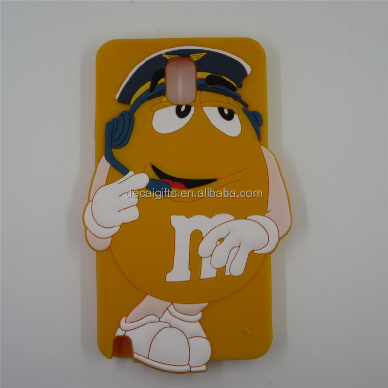 3D promotional custom silicone phone case for iphone