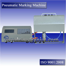 Pneumatic cnc metal marking machinery