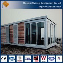 low cost prefab steel structure kit house for vacation