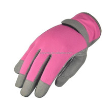 High Quality Ladies Leather Gardening Gloves